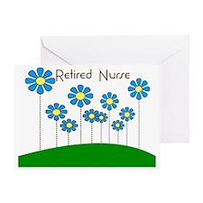 Retired Nurse Pillow 5 Greeting Card