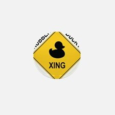 Rubber Ducky Xing Mini Button
