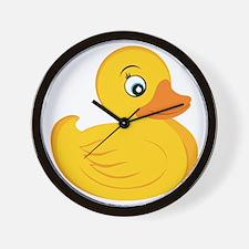 Rubber Ducky Wall Clock