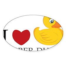 Love Rubber Ducks Decal