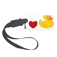 Love Rubber Ducks Luggage Tag