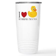 Love Rubber Ducks Travel Mug