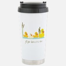 In A Row Stainless Steel Travel Mug