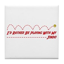Jindo Play Tile Coaster