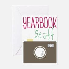 Yearbook Staff Greeting Card