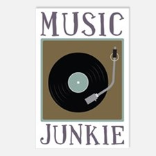 Music Junkie Postcards (Package of 8)