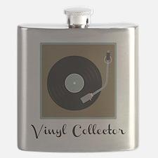 Vinyl Collector Flask
