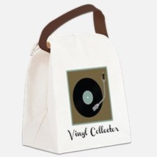 Vinyl Collector Canvas Lunch Bag