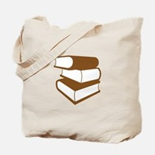 Stack Of Brown Books Tote Bag