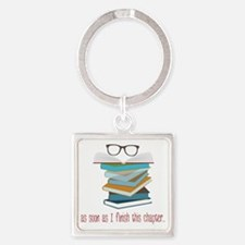 This Chapter Square Keychain