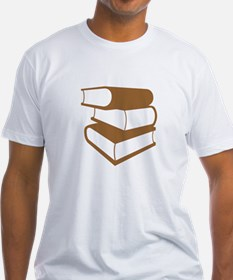 Stack Of Brown Books Shirt