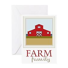 Farm Family Greeting Card