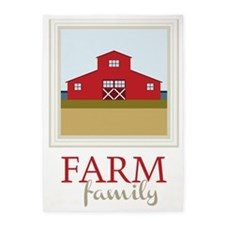 Farm Family 5'x7'Area Rug