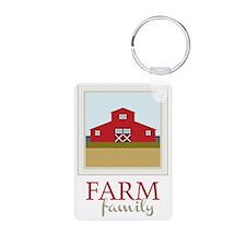 Farm Family Keychains