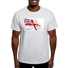 Royal Navy Insignia Flag T-Shirt