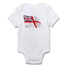 Royal Navy Insignia Flag Infant Bodysuit