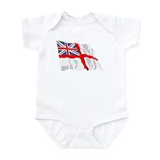 Royal Navy Insignia Flag Onesie