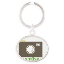 Yearbook Oval Keychain