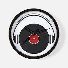 Record Wall Clock