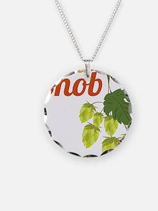 Beer Snob Necklace