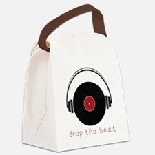 Drop The Beat Canvas Lunch Bag