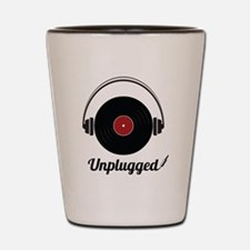 Unplugged Shot Glass