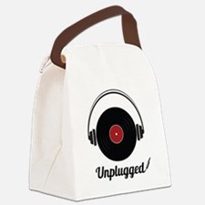 Unplugged Canvas Lunch Bag