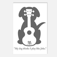 Dog Jake Uke Postcards (Package of 8)