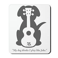 Dog Jake Uke Mousepad