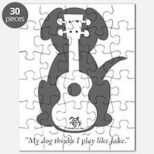 Dog Jake Uke Puzzle