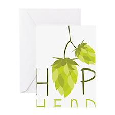 Hop Head Greeting Card