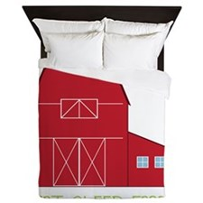 Eat Sleep Farm Queen Duvet