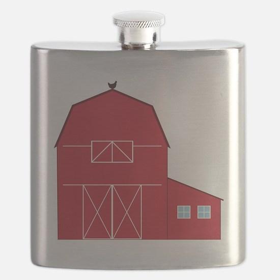 Red Barn Flask