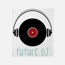 Future DJ Throw Blanket