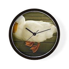 Pekin Duck Wall Clock