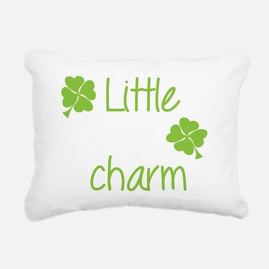Little lucky charm Rectangular Canvas Pillow