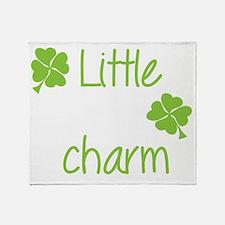 Little lucky charm Throw Blanket