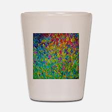 Rainbow Fields Shot Glass