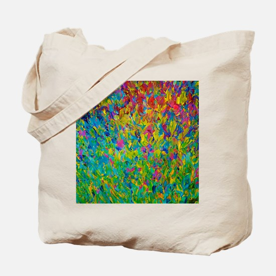 Rainbow Fields Tote Bag