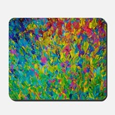 Rainbow Fields Mousepad