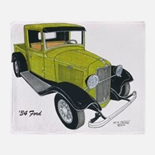 '34 Ford Pickup Throw Blanket