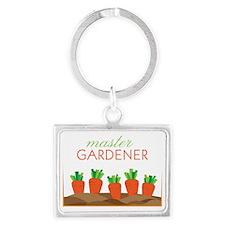 Master Gardener Landscape Keychain