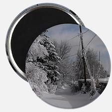 Round Compact Mirror Magnet
