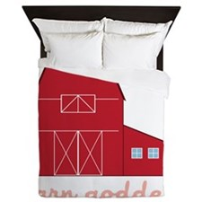 Barn Goddess Queen Duvet