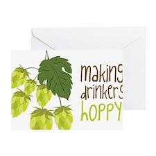 Making Drinkers Hoppy Greeting Card