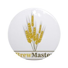 Brewmaster Round Ornament