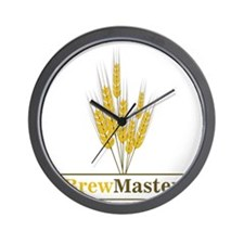 Brewmaster Wall Clock