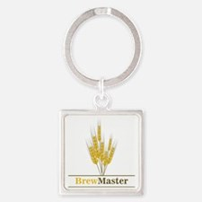 Brewmaster Square Keychain