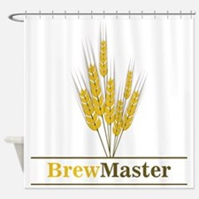 Brewmaster Shower Curtain