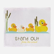 Stand Out Throw Blanket